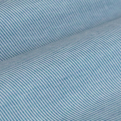 Germirli Light Blue Twill Combed Cotton Fabric Semi Spread Knitting Slim Fit Shirt - Thumbnail
