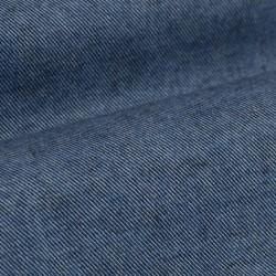 Germirli Mavi Flanel Düğmeli Yaka Tailor Fit Gömlek - Thumbnail