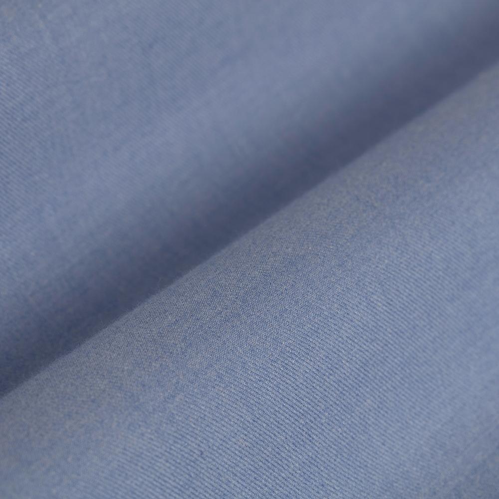 Germirli Mavi Flanel Tailor Fit Gömlek deneme