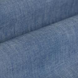 Germirli Mavi İndigo Palmiye Detaylı Cepli Overshirt Tailor Fit Gömlek - Thumbnail
