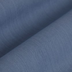 Germirli Mavi Twill İndigo Tailor Fit Gömlek - Thumbnail