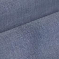 Germirli Mavi İndigo Tropical Detaylı Düğmeli Yaka Tailor Fit Gömlek - Thumbnail