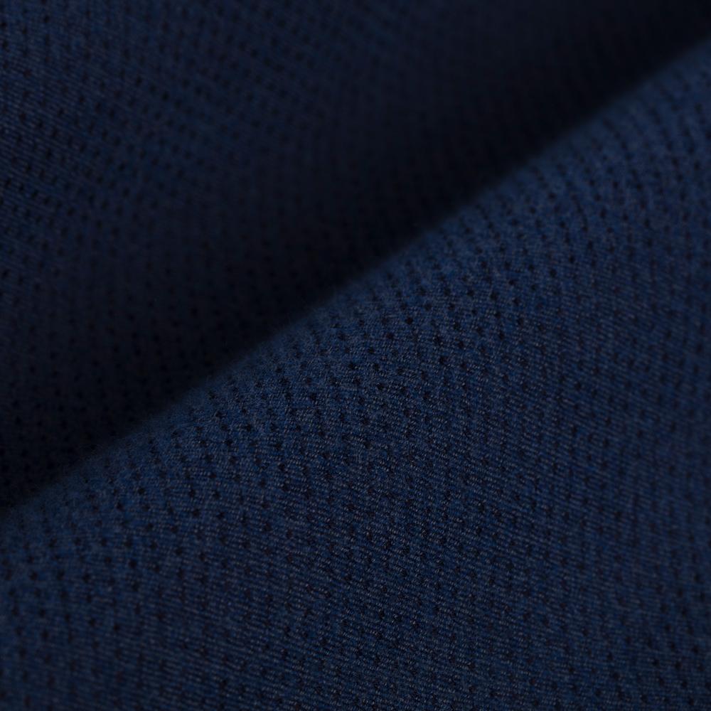 Germirli Mavi Lacivert Puanlı Flanel Tailor Fit Gömlek