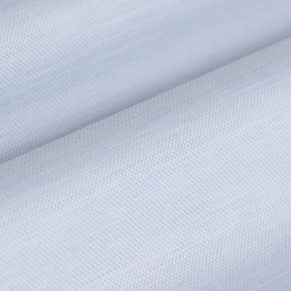 Germirli Mavi Oxford Düğmeli Yaka Tailor Fit Gömlek