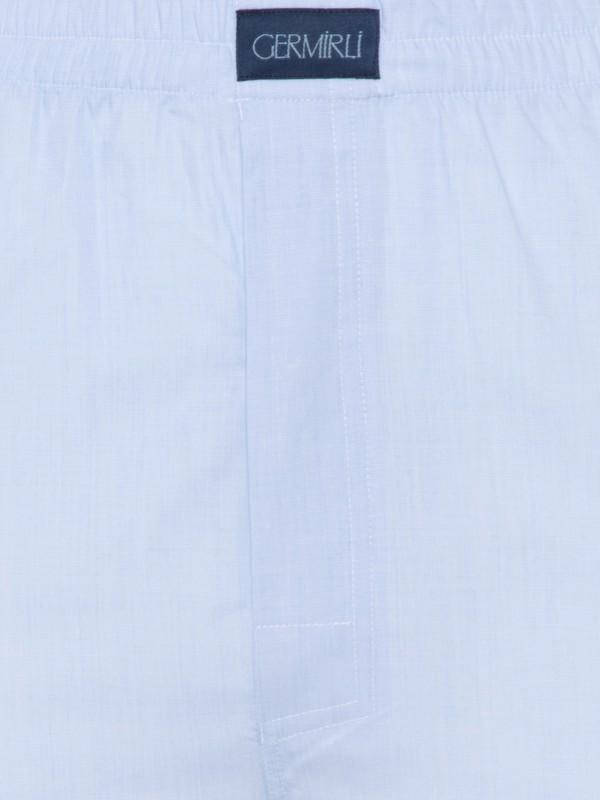 Germirli - Germirli Mavi Pamuk Boxer Şort (1)