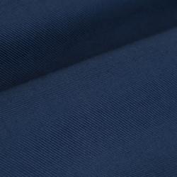 Germirli Mavi Twill Düğmeli Yaka Tailor Fit Kaşmir Gömlek - Thumbnail