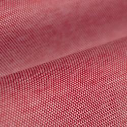 Germirli Mercan Kırmızısı Klasik Yaka Piquet Örme Slim Fit Gömlek - Thumbnail