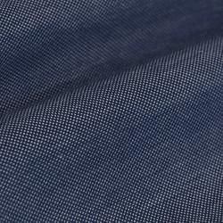 Germirli Navy Blue Button Down Collar Piquet Knitted Slim Fit Shirt - Thumbnail