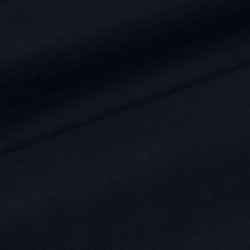 Germirli Navy Blue Grandad Collar Tailor Fit Shirt - Thumbnail