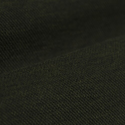 Germirli Nefti Yeşili Klasik Yaka Piquet Örme Kısa Kollu Slim Fit Gömlek - Thumbnail