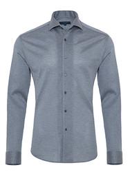 Germirli - Germirli Nevapaş Light Blue Tailor Fit Piquet Knitted Shirt