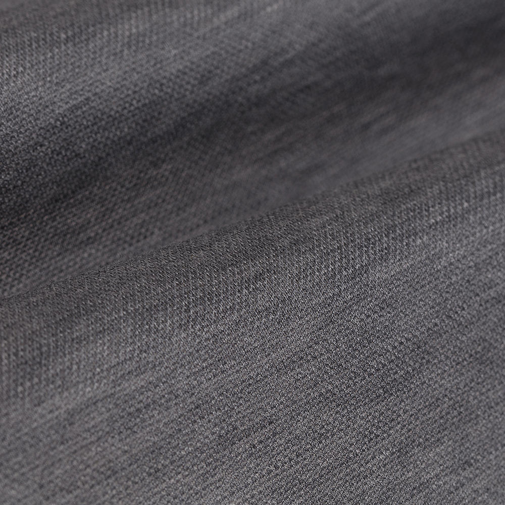 Germirli Nevapaş Spread Collar Grey Tailor Piquet Fit Knitted Shirt