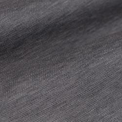 Germirli Nevapaş Spread Collar Grey Tailor Piquet Fit Knitted Shirt - Thumbnail