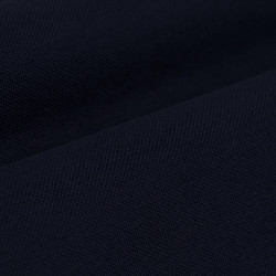 Germirli Nevapaş Spread Collar Navy Blue Tailor Fit Piquet Knitted Shirt - Thumbnail