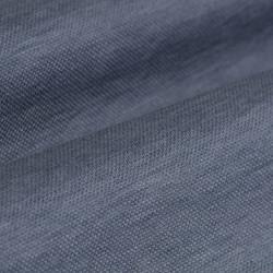 Germirli Nevapaş Tek Parça Yaka Açık Mavi Tailor Fit Piquet Örme Gömlek - Thumbnail