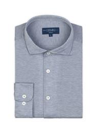 Germirli - Germirli Nevapaş Tek Parça Yaka Gri Tailor Fit Gömlek (1)