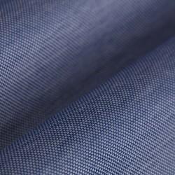 Germirli Nevapaş Tek Parça Yaka Mavi Piquet Örme Tailor Fit Gömlek - Thumbnail