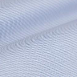 Germirli Non Iron A.Mavi Beyaz Kareli Düğmeli Yaka Tailor Fit Zero 24 Gömlek - Thumbnail