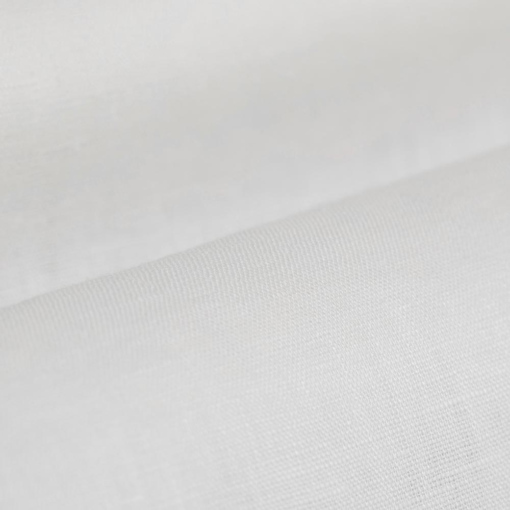 Germirli Non Iron Beyaz Keten Düğmeli Yaka Tailor Fit Journey Gömlek