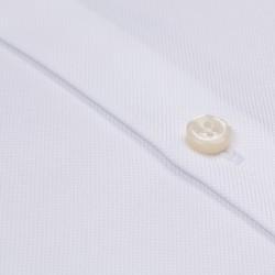 Germirli Non Iron Beyaz Oxford Klasik Yaka Tailor Fit Journey Gömlek - Thumbnail