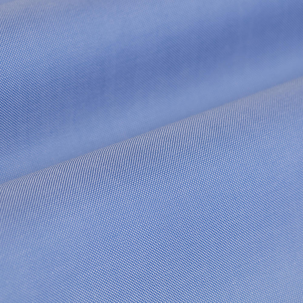 Germirli Non Iron Blue Button Down Collar Tailor Fit Zero 24 Shirt
