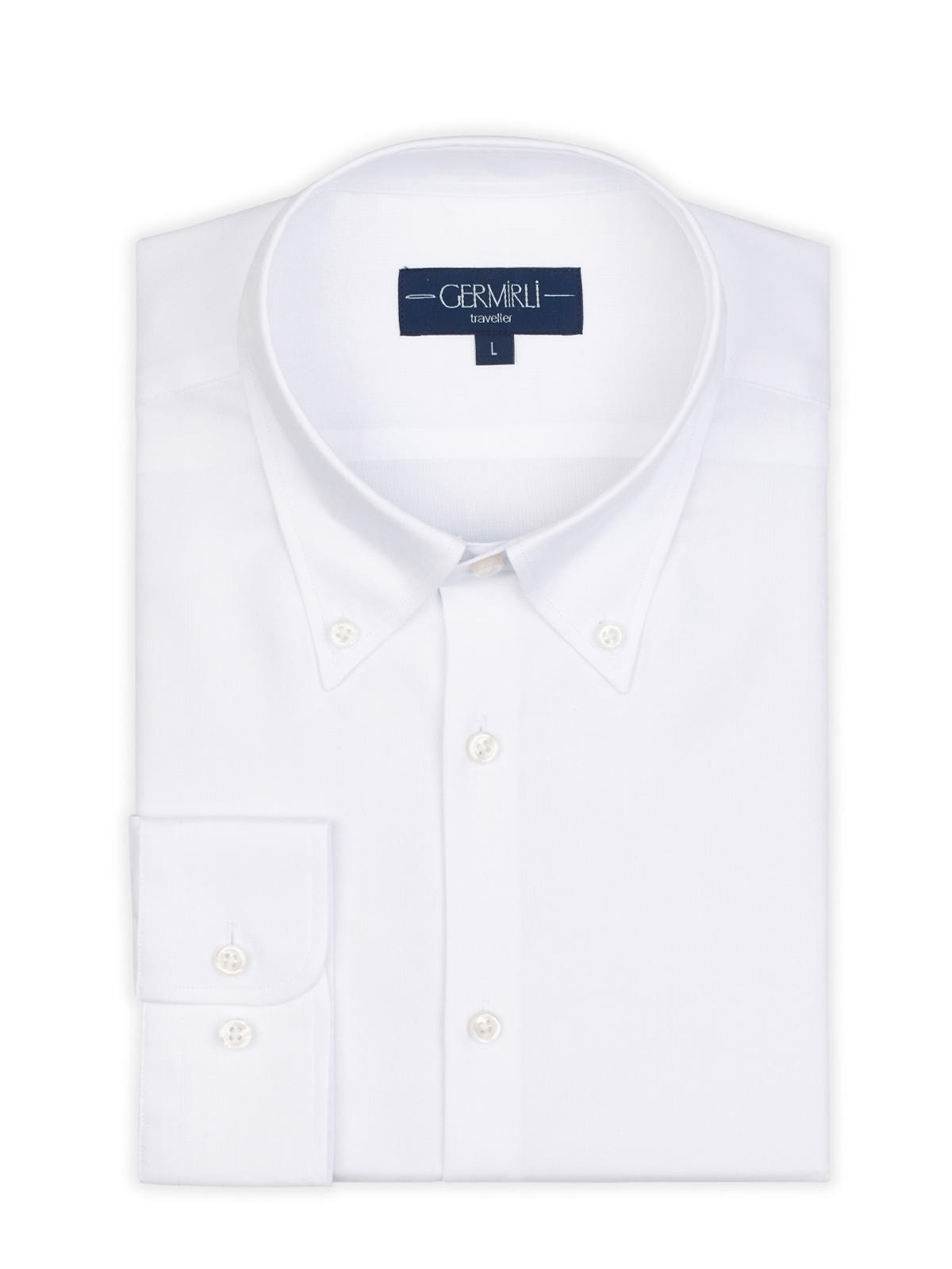 Germirli Non Iron Button Down Collar Tailor Fit Zero 24 Shirt