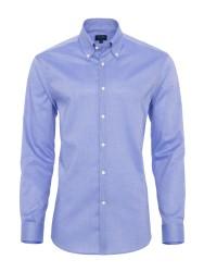 Germirli - Germirli Non Iron K.Mavi Oxford Düğmeli Yaka Tailor Fit Gömlek