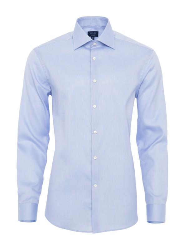 Germirli - Germirli Non Iron K.Mavi Oxford Klasik Yaka Tailor Fit Journey Gömlek