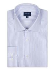 Germirli - Germirli Non Iron Laci Çizgili Klasik Yaka Tailor Fit Gömlek (1)