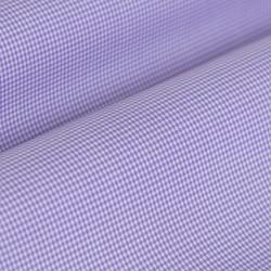 Germirli Non Iron Lila Kareli Düğmeli Yaka Tailor Fit Gömlek - Thumbnail