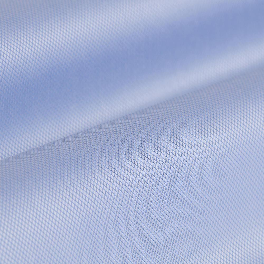 Germirli Non Iron Mavi Oxford Klasik Yaka Tailor Fit Journey Gömlek