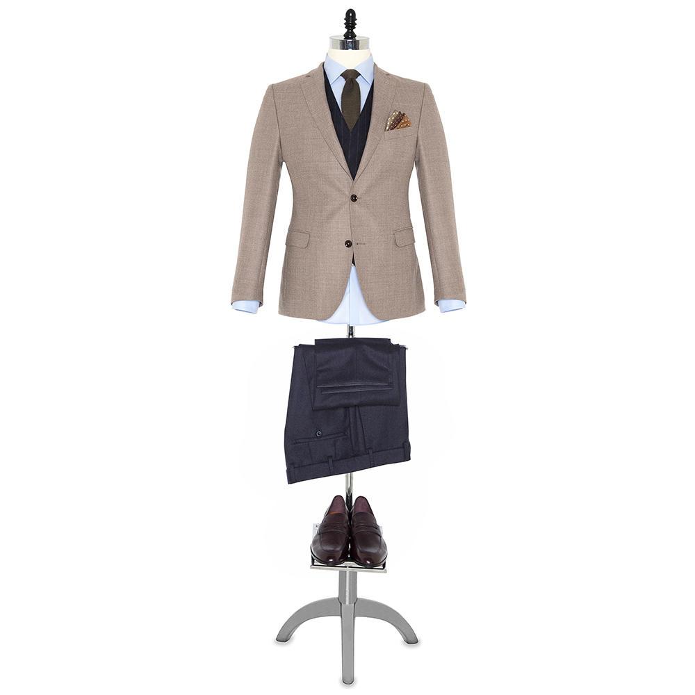 Germirli Non Iron Oxford Mavi Klasik Yaka Tailor Fit Journey Gömlek