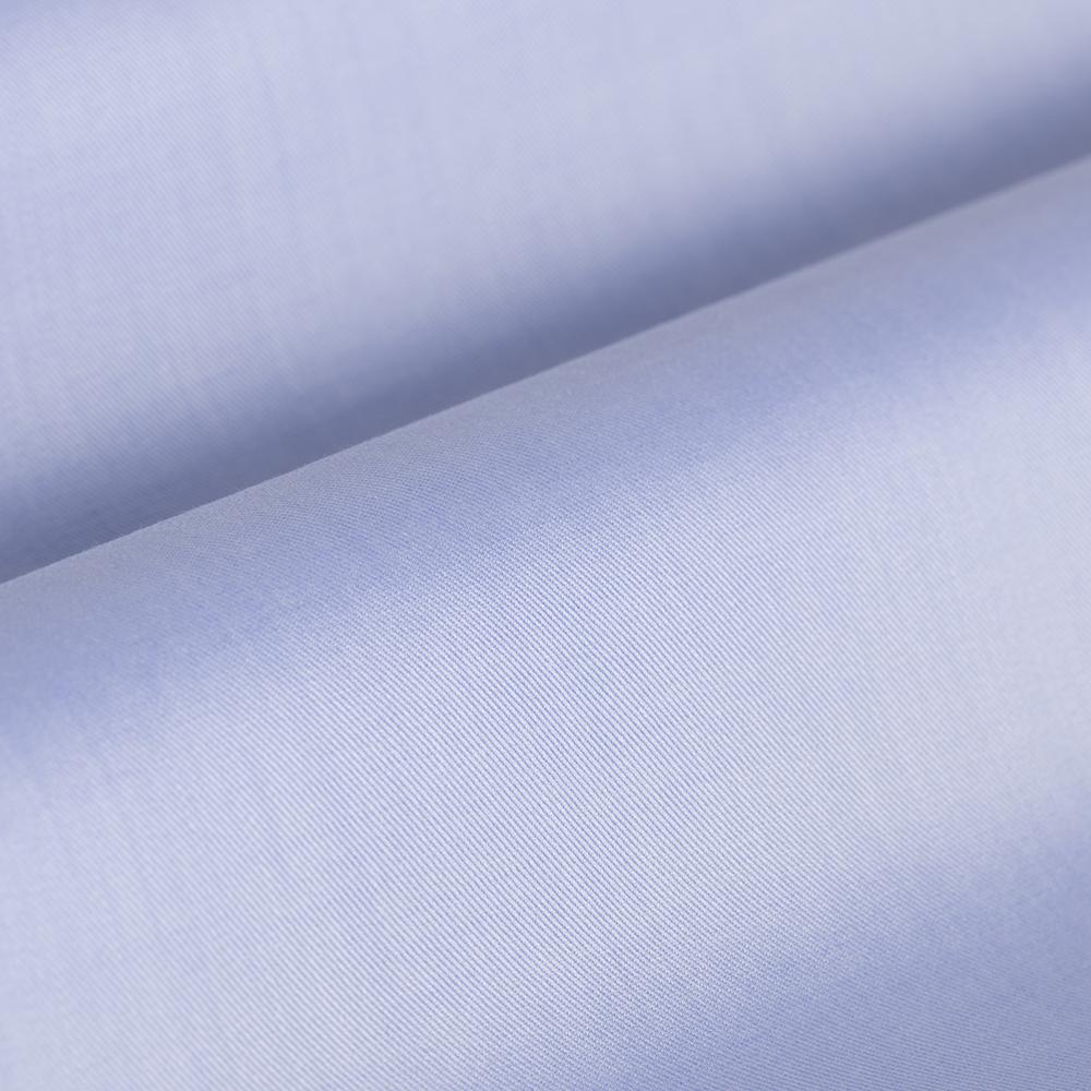 Germirli Non Iron Mavi Twill Klasik Yaka Tailor Fit Gömlek