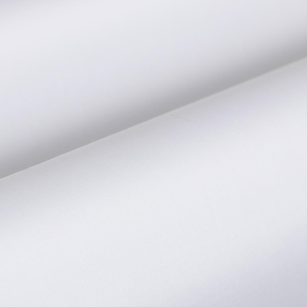 Germirli Non Iron White Twill Semi Spread Tailor Fit Shirt