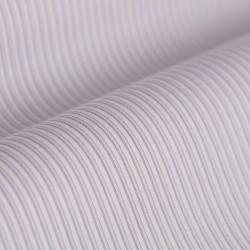 Germirli Pembe Beyaz Mavi Çizgili Düğmeli Yaka Tailor Fit Gömlek - Thumbnail