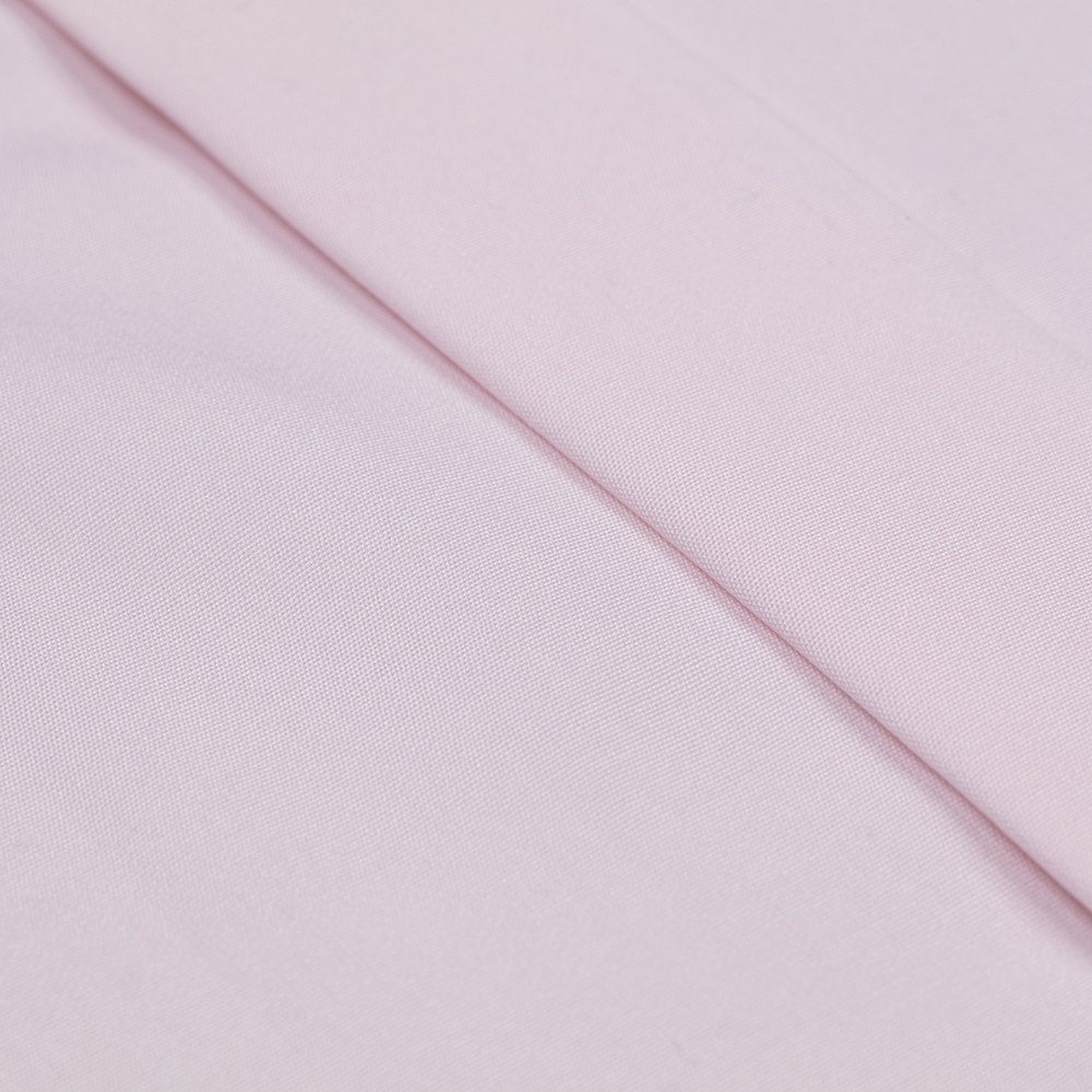 Germirli Pembe Poplin Gizli Pat Klasik Yaka Tailor Fit Gömlek