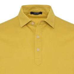 Germirli - Germirli Sarı Gömlek Yaka Polo Tailor Fit T-Shirt (1)