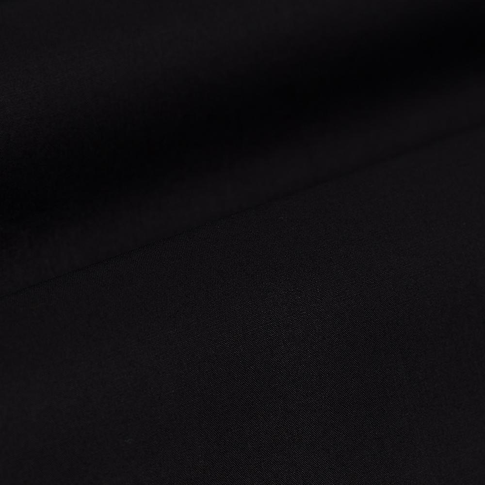 Germirli Siyah Gizli Pat Klasik Yaka Tailor Fit Gömlek