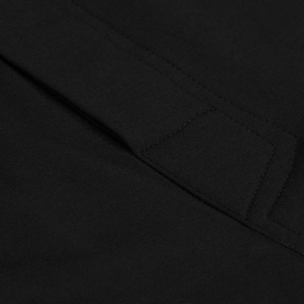 Germirli Siyah Pamuklu 3D Streç Slim Boxer Şort Boxer Şort