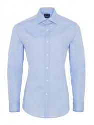 Germirli - Germirli Traveller Klasik Yaka Slim Fit A.Mavi Gömlek