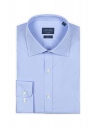Germirli - Germirli Traveller Klasik Yaka Slim Fit A.Mavi Gömlek (1)