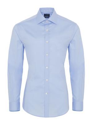 Germirli Traveller Semi Spread Slim Fit Blue Shirt