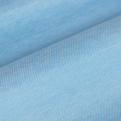 Germirli Turquois Semi Spread Collar Piquet Knitted Slim Fit Shirt - Thumbnail