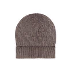 Germirli - Germirli Vintage Toprak Kare Dokulu Şapka