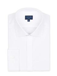 Germirli White Semi Spread Tailor Fit Shirt - Thumbnail