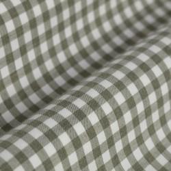 Germirli Yeşil Beyaz Kareli Flanel Tailor Fit Gömlek - Thumbnail