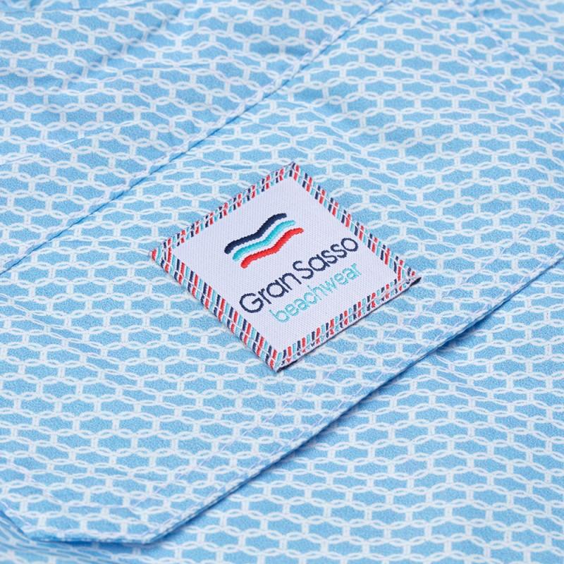 Gran Sasso - Gran Sasso Fancy Mavi Polyamide Mayo (1)