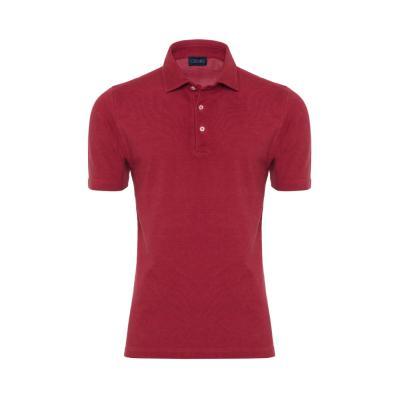 Germirli - Germirli Gömlek Yaka Kiremit Polo T-Shirt