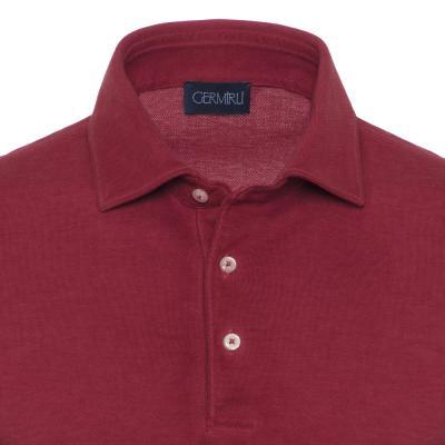 Germirli - Germirli Gömlek Yaka Kiremit Polo T-Shirt (1)