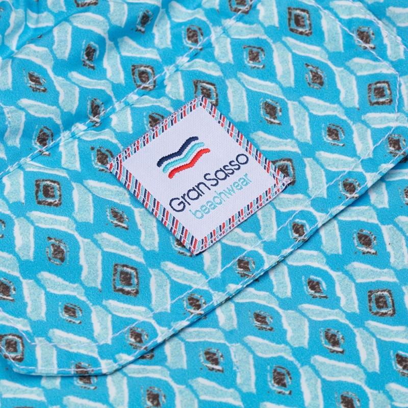 Gran Sasso - Gran Sasso Recycled Microfiber Mavi Mayo (1)